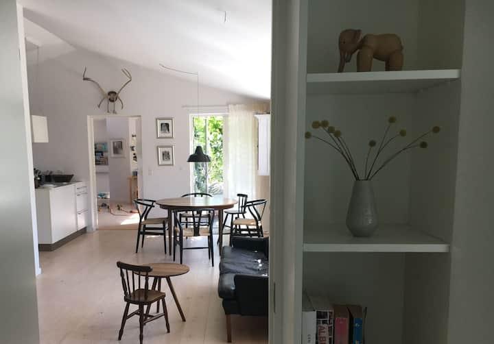 Modern beachnear family home close to Copenhagen