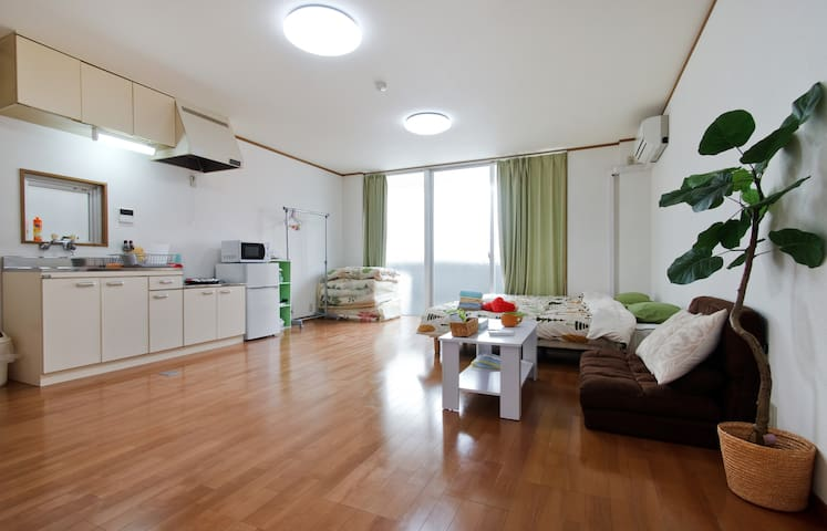 *A ★5PPL☆Seaside Osaka clean&wide★Aquarium☆USJ★ - Osaka - Apartamento