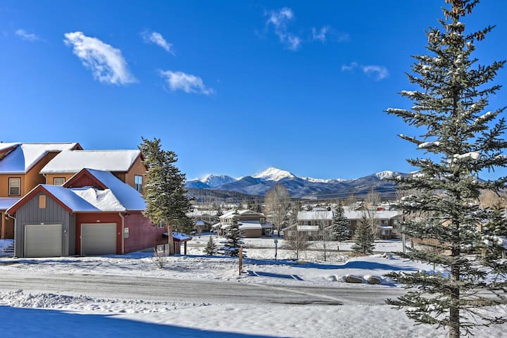 NEW! Fraser Condo w/ Byers Peak View, 5 Mi to Ski!