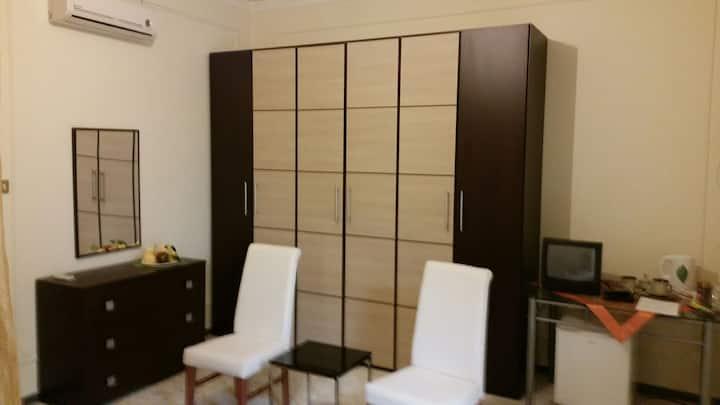 stanza  matrimoniale con bagno a Scala Torregrotta