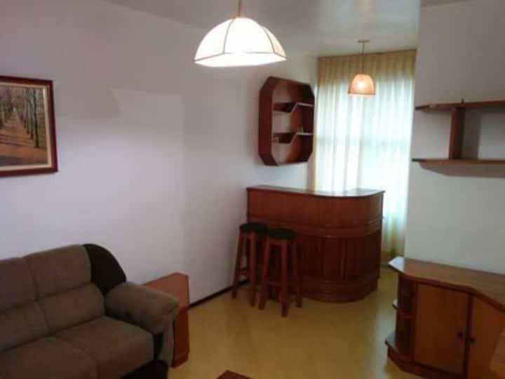 Flat no Centro de Cascavel apt 31
