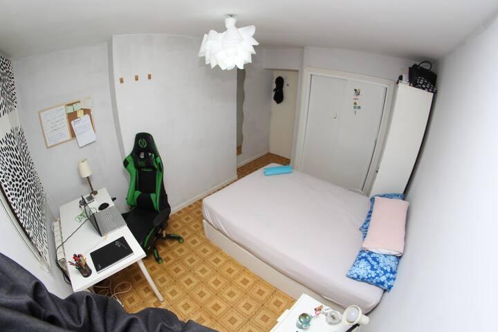 Comfort room en el corazón de Madrid para 2