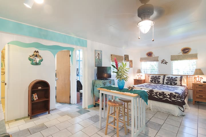 Beachside Bungalow~~gorgeous beach! - Waimanalo - Apartment