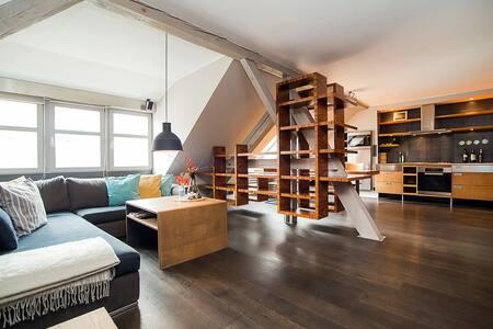 Stunning two-level apartment in Old Town - Praha - Leilighet