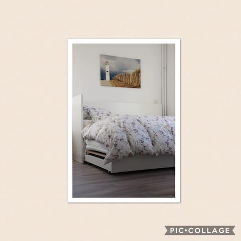 Mooie privékamer nabij stand - Noordwijkerhout - Rumah
