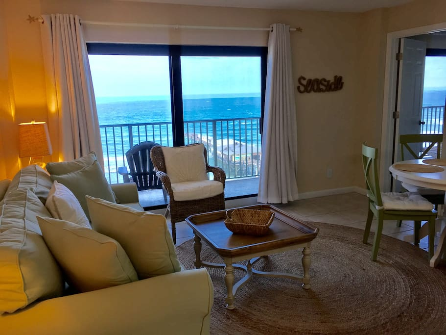 Newly Renovated Ocean Front Sandbox Apartments For Rent In Daytona Beach Shores Florida