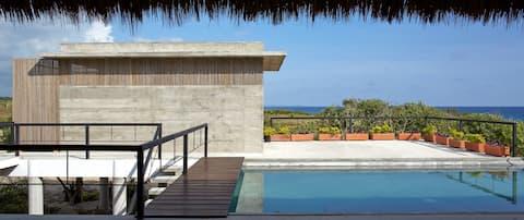 Design award winner Beach House Puerto Escondido.