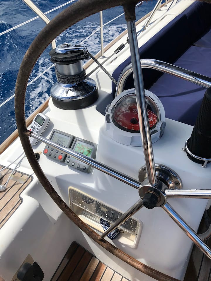 Take a turn at the helm