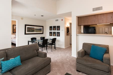 Cozy 1 bed apt 15 min walk to metro - McLean - Appartement