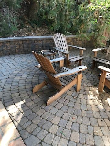 Enjoy the backyard
