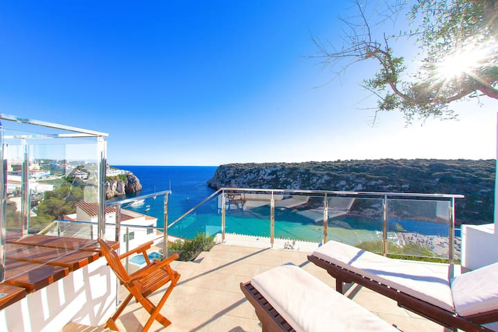 Beach Villa Bellavista - Seaside Villa Rental on Menorca Island