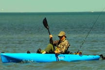 Kayaking and fishing in the Laguna Madre is a complete escape from it all.