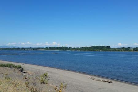 Sauvie Island-Overlooks Columbia River-RV - Portland - Lakókocsi/lakóautó