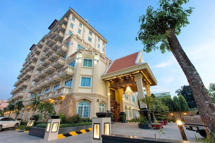 Battambong city is more beautiful