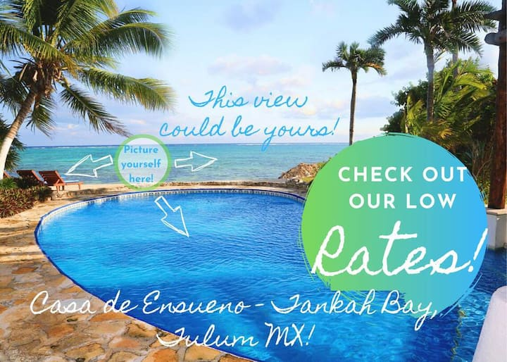 TULUM! PARADISE! HURRY! DISCOUNTED RATES!