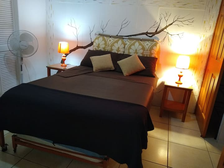 Comfortable room, double bed