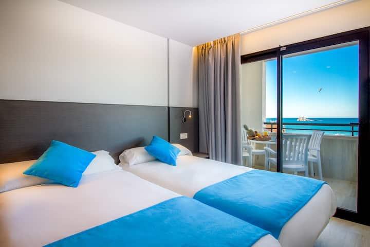 Apartamento deluxe, céntrico y con vistas al mar