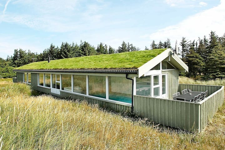 Rustic Holiday Home in Løkken With Swimming Pool