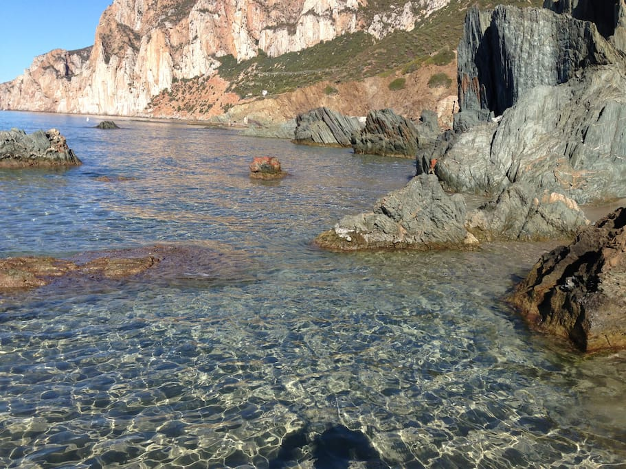 Masua beach