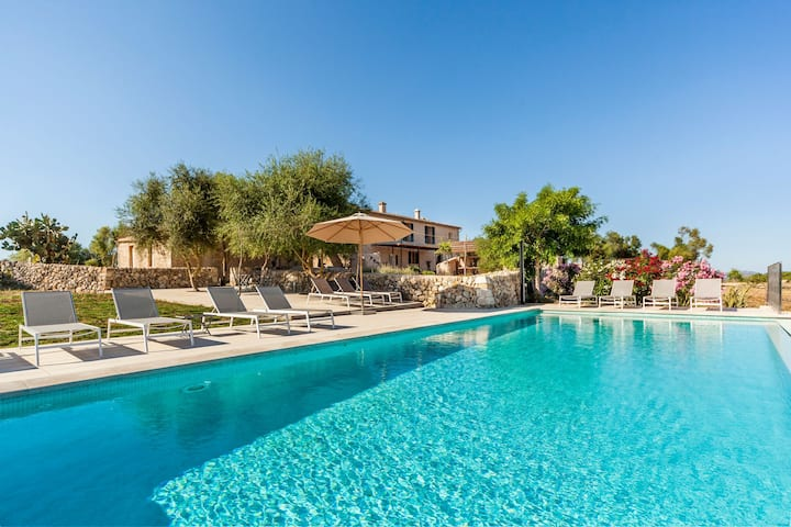 Rustic country house with pool - Villa Turonet