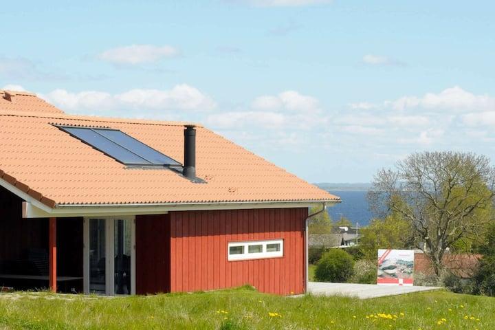 Acogedora casa de vacaciones en Augustenborg con sauna