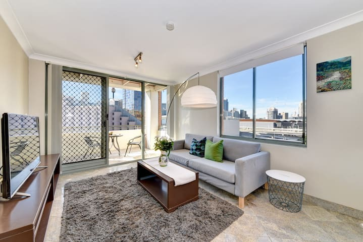 Boutique apartment set above Darling Harbour