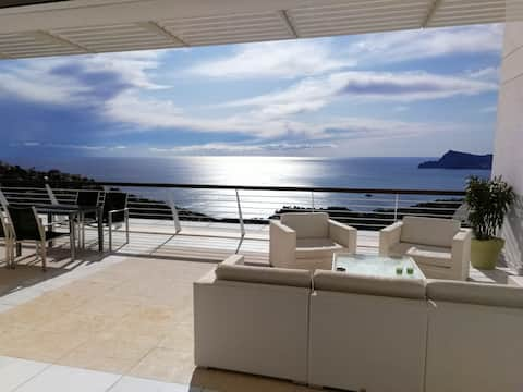 luxury apartment Altea Hills