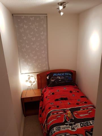 Dormitorio 1: Una cama