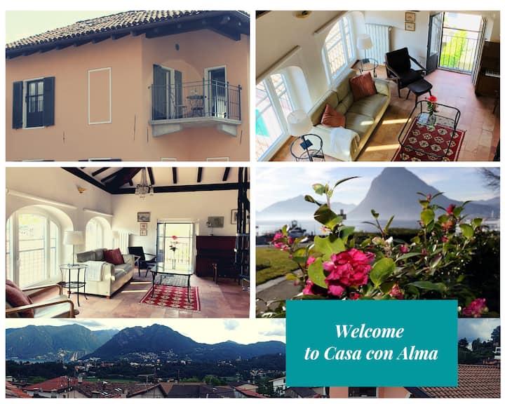 """Casa """"Con Alma"""" Lugano (Biogno) """"New lower price"""""""