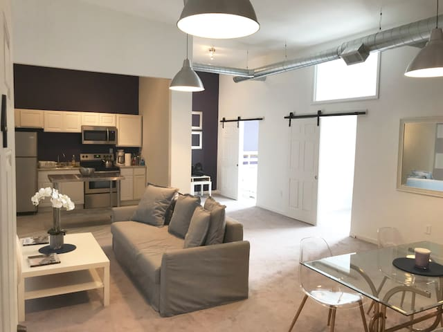 SPACIOUS AND MODERN 2BDR MOTORCITY LOFT, SLEEPS 6