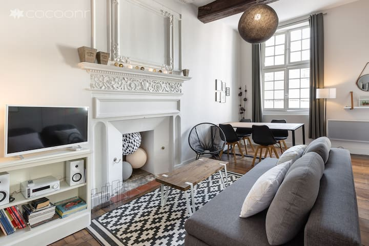 🌟TY SAUVEUR - Charm 1BR in the historic center🌟