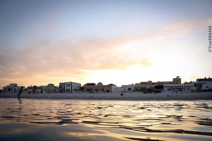 Appartement tout neuf en face de la plage