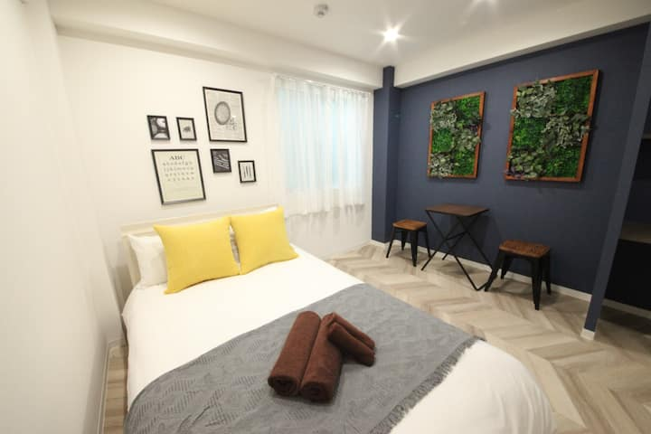 H174 New Open!5min Shibuya station ! Max2ppl! WIFI