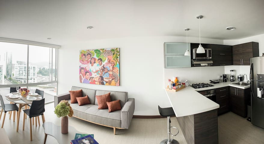 Luxury Living in Manizales- El Cable - Manizales - Leilighet