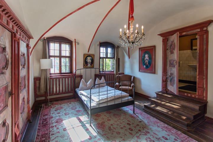 Bezaubernde Zimmer und Appartements im Schloss