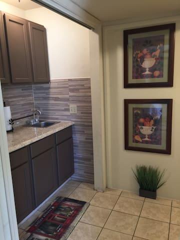 Studio Apartment with Kitchenette