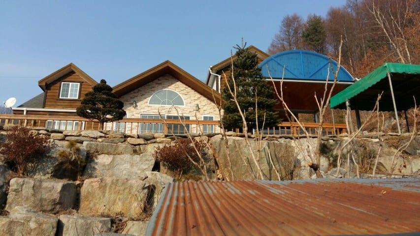 Peaceful two-story big house Pyeongchang Olym.평창독채