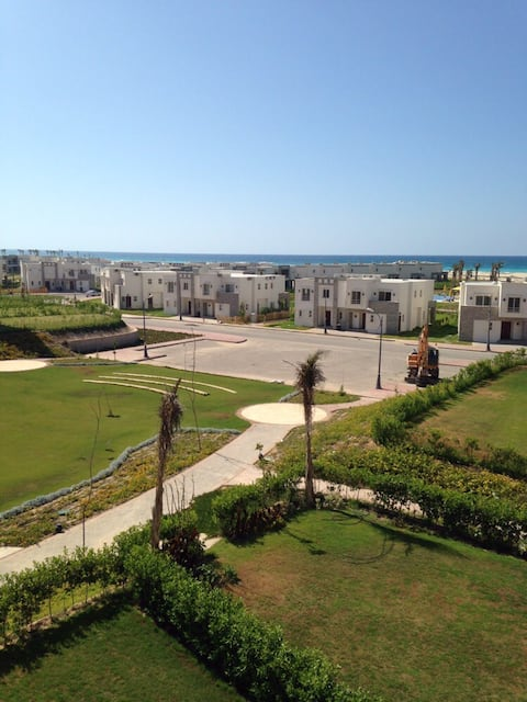 A Superb sea view 2b chalet for rent in Amwaj
