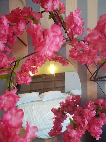 樱花主题智能互联网无人公寓
