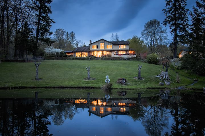 Amazing Lakeview house,quiet and private