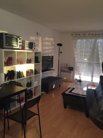 Jolie appartement T2 cosy et calme - Lattes - Lägenhet