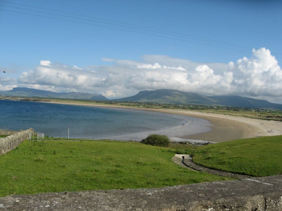 Mullaghmore Beach.