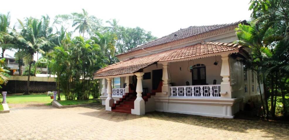 Garden Villa,Vagator- Eat Drink Stay, The Goan way