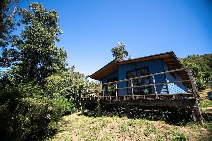 Cabañas Azules del rio Cutipay 2