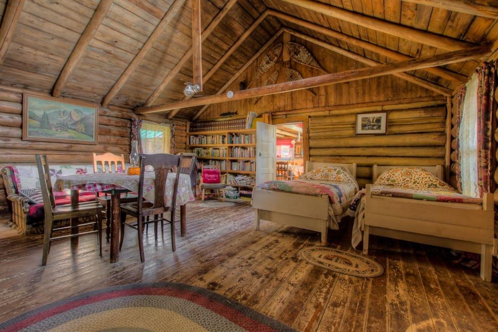 Historic Off Grid Lodge On Spencer Pond Cabins For Rent