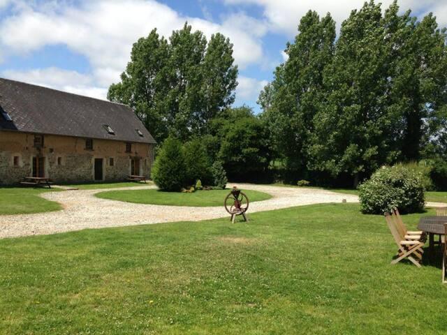 Normandy, St. Sauveur le Vicomte - Rauville-la-Place - Gjestehus
