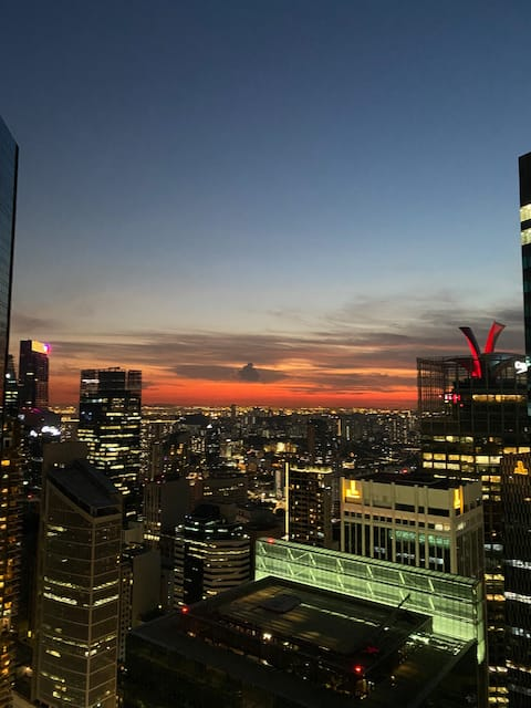 Entire 1 Bedroom flat at the heart of CBD 중심가아파트전체
