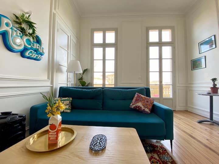 Magnifique appartement avec terrasse à Bordeaux