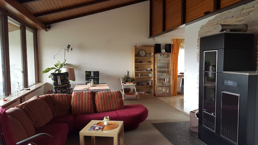 Familienfreundliches Ferienhaus nahe Bodensee - Pfullendorf