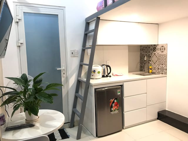 Cheap Mini Serviced Duplex near District 1, HCMC